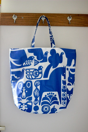 Laminated Cotton Tote by jenib320