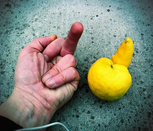 This lemon has a message for you