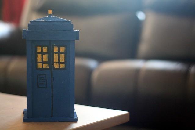 Handmade TARDIS
