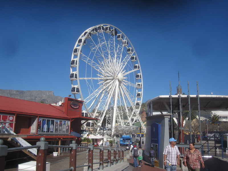 Cape Town South Africa Ferris Wheel