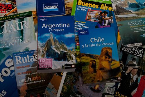 Planning previo viaje a Argentina y Chile