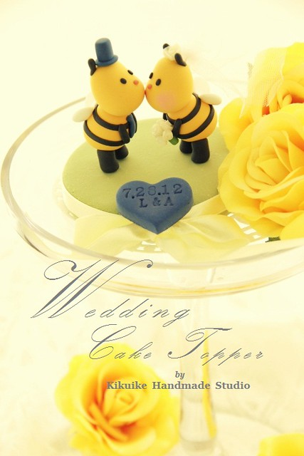 ... Wedding Cake Topper-love Bees Sweety Kissing | Flickr - Photo Sharing