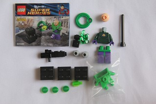 lego lex luthor power armor instructions