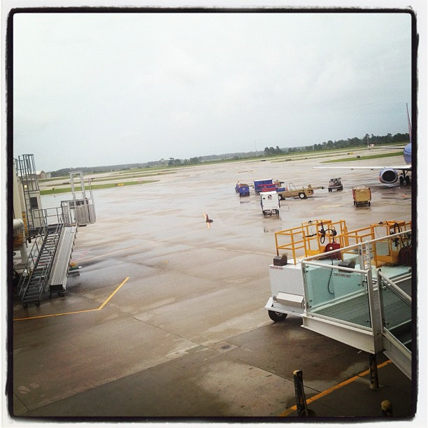 My view for a few hours. #delayed