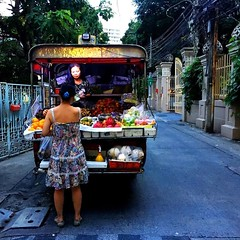Fruit truck #bangkok