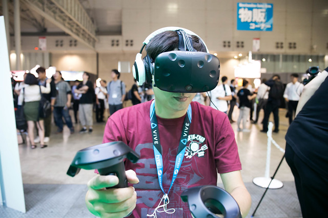 [TGS 2016] 邁向虛擬的新世代 RPG!HTC Vive 版『乖離性百萬亞瑟王 VR』體驗 @3C 達人廖阿輝