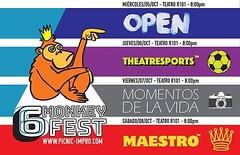 Ya viene el 6 Monkey Fest ! Va a estar bomba !!
