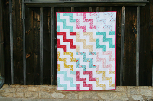 Up a Notch Quilt and Pattern