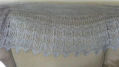Botanical garden shawl