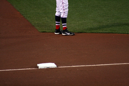 Middlebrooks' high socks