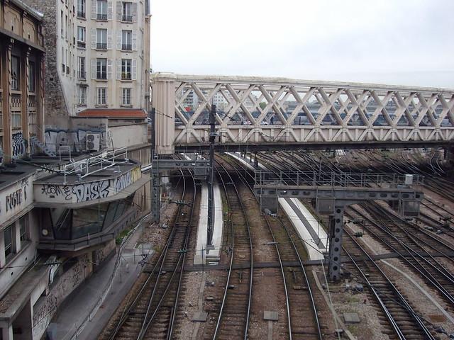 Gare de l'Est - train lines