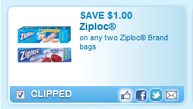 Ziploc Brand Bags Coupon