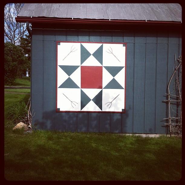 Ohio Star barn quilt | Flickr - Photo Sharing!