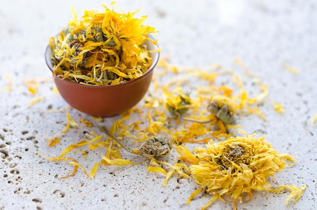Nourishing Calendula Tea by Mary Banducci 4