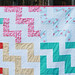 Up a Notch Quilt and Pattern by Fresh Lemons : Faith