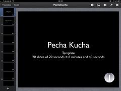Pecha Kucha op de iPad