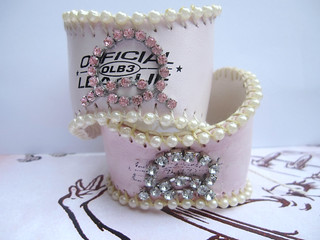 Custom Shabby Baseball Cuffs! 4