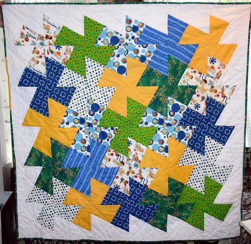 baby quilt for M's niece Erinn