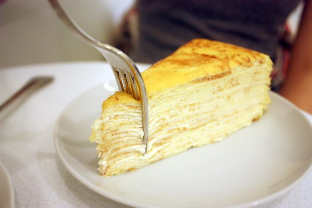 Mille Feuille Crepe Cake