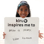 KLRU inspires me to... write a story.