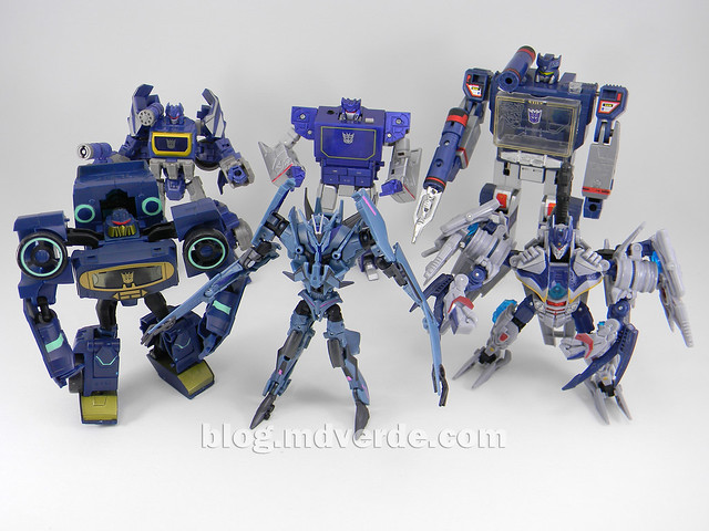 Transformers Soundwave - Prime RID - modo robot vs otros Soundwave