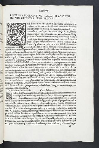 Woodcut initials in Cleonides: Harmonicum introductorium etc