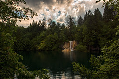 another view of this watherfall Plitvice Lakes National Park, Croatia