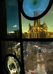 Ghent thru the window (Belgium) by albatz
