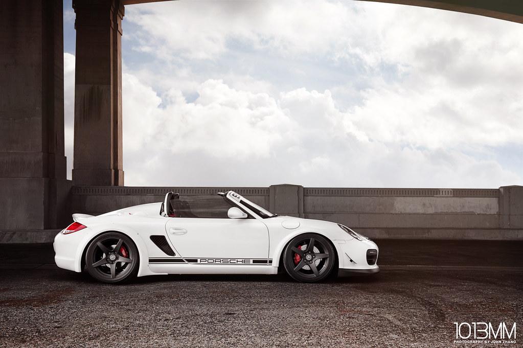 Forgestar Widebody Porsche Boxster Spyder