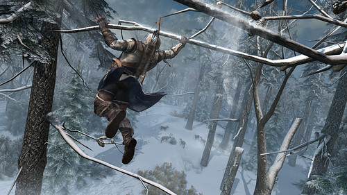 First Look: Assassin's Creed III - Frontier Tree Running
