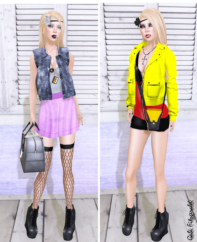 (Color Blocking Fair) Crash Republic - Tentacio - Splash - Glue Ink - Chloe