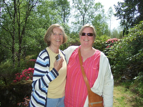 Kristin and her mother Berit.