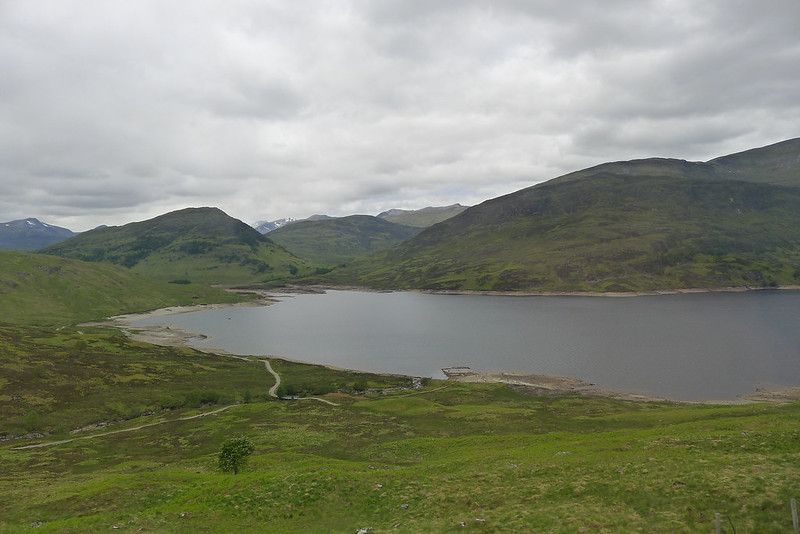 Head of Loch Treig from the West Highland Line