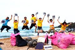 臺師大生命科學系的寶島淨鄉團,要守護台灣海岸。