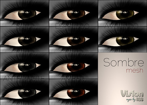 Sombre mesh eyes, 80L - Vision by A:S:S