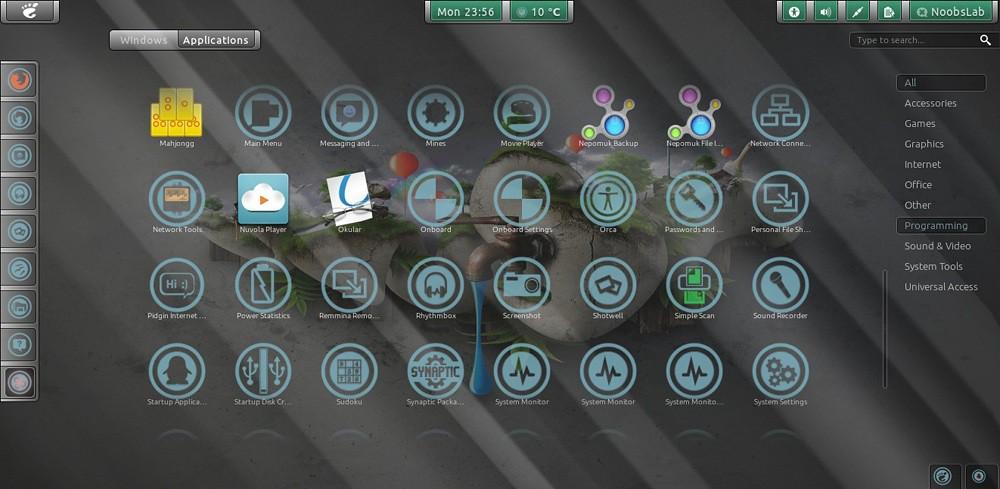 ubuntu 12.04 gnome shell