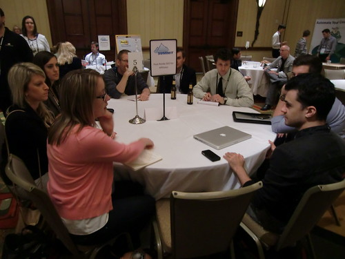 Roundtable at Affiliate Summit Central 2012