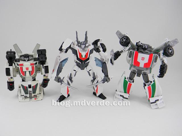 Transformers Wheeljack - Prime RID - modo robot vs G1 vs Generations