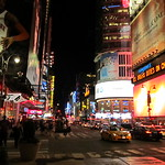 42nd Street, Midtown Manhattan, at Times Square