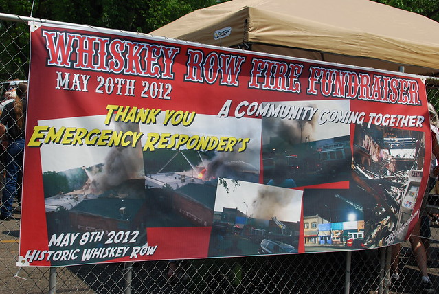 Whiskey Row Benefit Weekend, 5/20/12