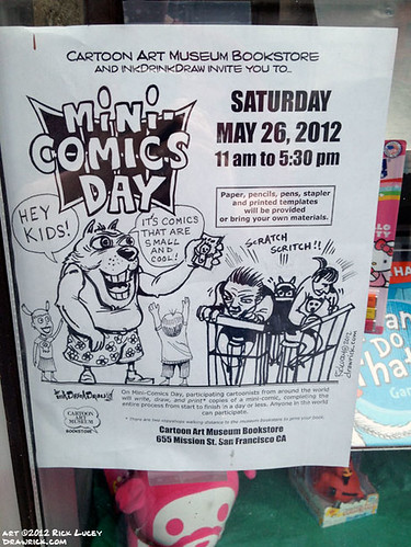 Mini-Comic Day 2012 poster