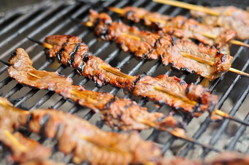 Teriyaki Beef Skewers