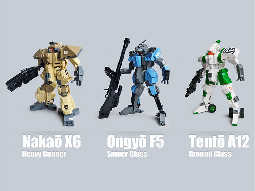 Mecha Classes roundup 2