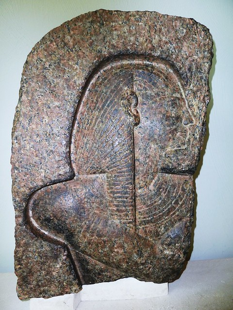 Granite relief of Rameses II, Burrell Collection, Glasgow
