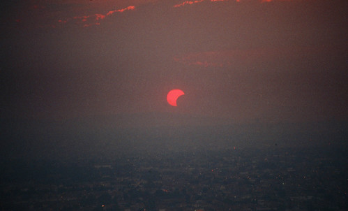 Solar Eclipse. May 20th 2012. Guadalajara, Mexico.