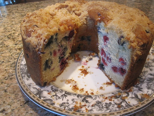 Berry Buttermilk Cake