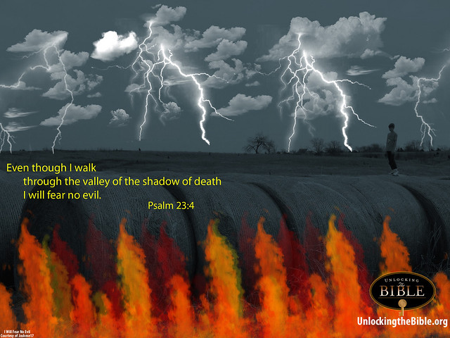 Psalm 23:4 Desktop Wallpaper Computer Background | Flickr - Photo ...