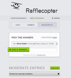 RafflecopterWinner