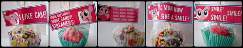 Pinkie Pie Pops
