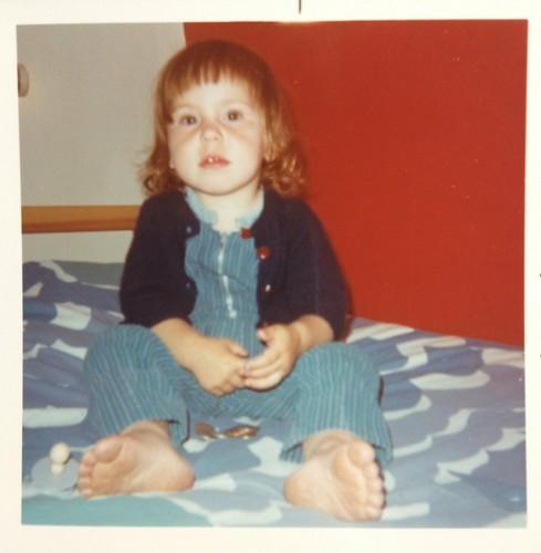 Jag i Öregrund 1971